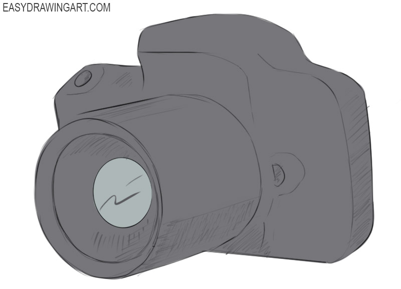 Camera Coloring Pages