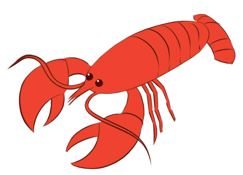 Crayfish Coloring Pages