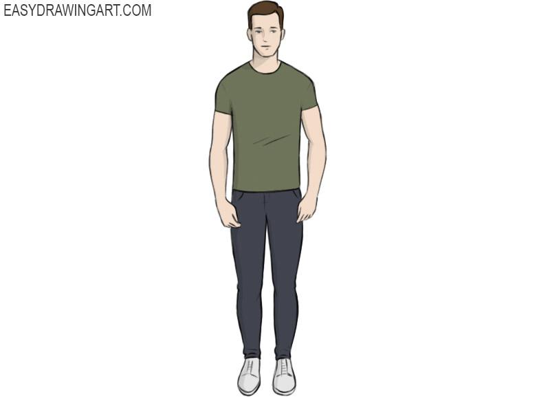 Human Coloring Page