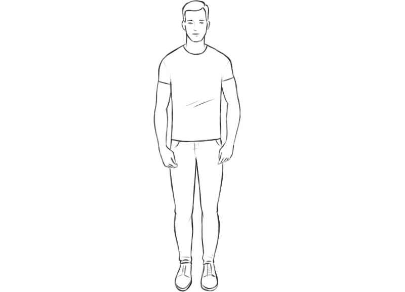 Human Coloring Pages