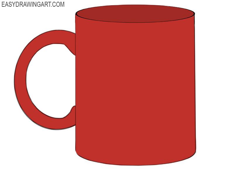 Mug Coloring Pages