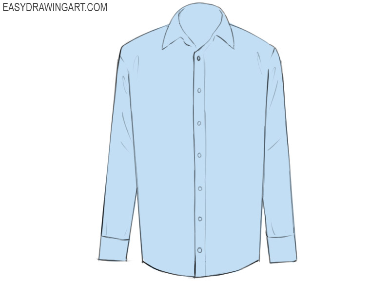 Shirt Coloring Pages