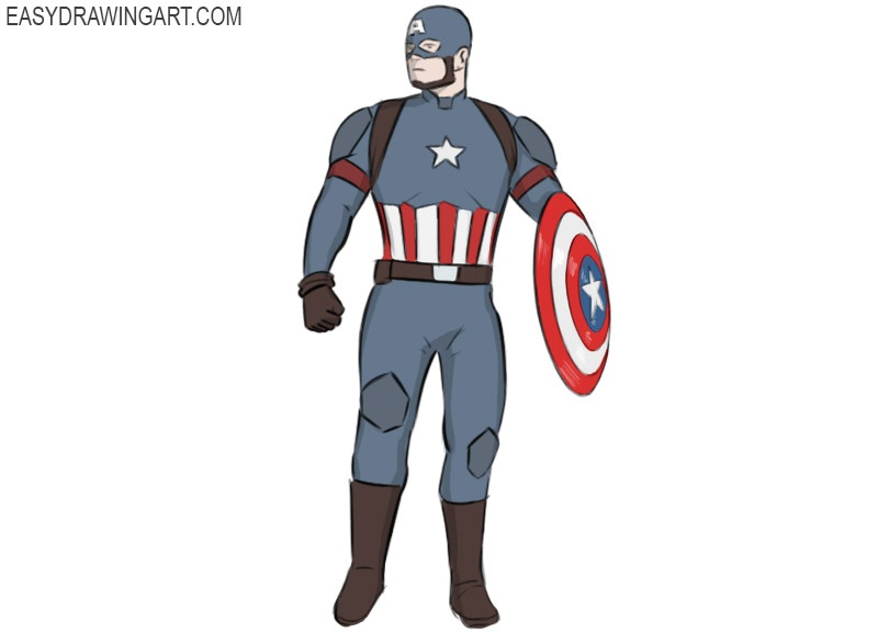 captain-america coloring pages