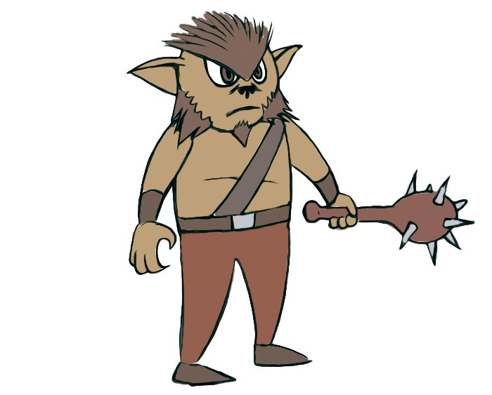 Bugbear Coloring Page