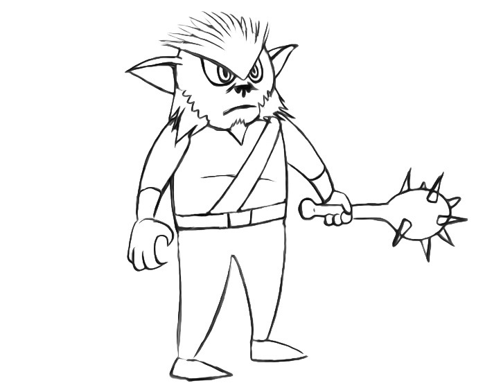 Bugbear Coloring Pages