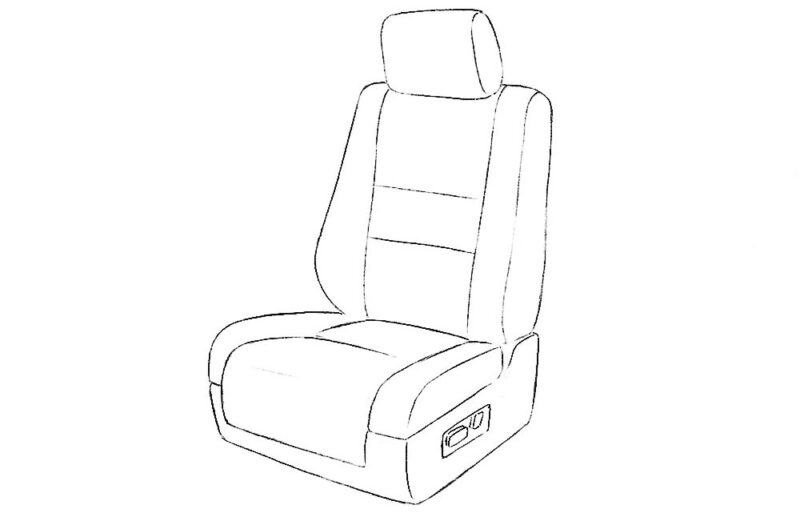 Car Seat Coloring Page