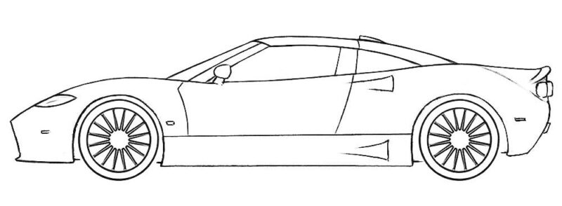 - Really Cool Car Coloring Page Coloringpagez.com