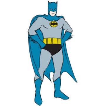 Batman Coloring Page easy