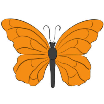 Butterfly Coloring Page printable