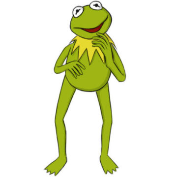 Kermit the Frog Coloring Pages