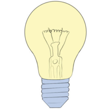 Light Bulb Coloring Pages