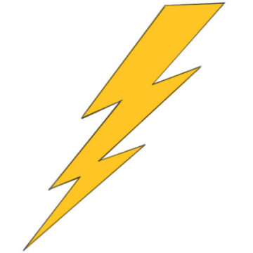 Lightning Bolt Coloring Pages