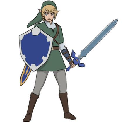 Link Coloring Page