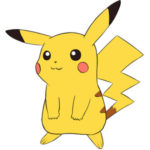 Pikachu Coloring Page