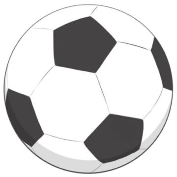 Soccer Ball Coloring Page printable
