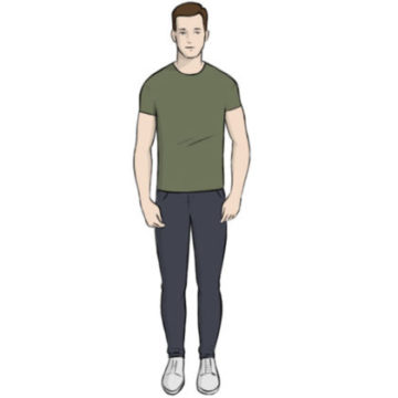 human coloring page printable
