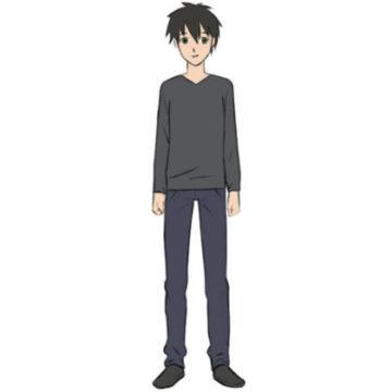 manga character coloring page printable