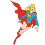 Supergirl Coloring Page