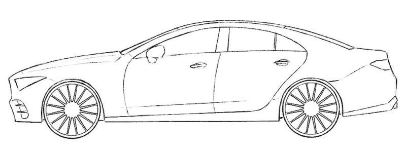 Car Coloring Page Coloringpagez Com