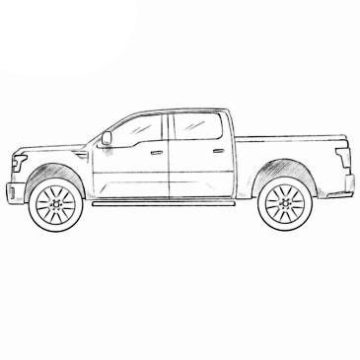 Ford Tuscany Coloring Pages