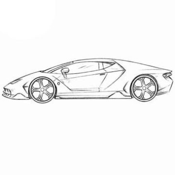 Lambo Coloring Pages