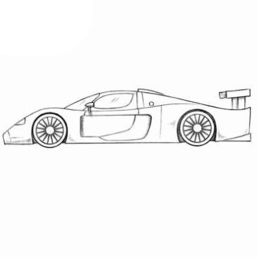 Maserati Coloring Pages