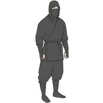Ninja coloring page printable