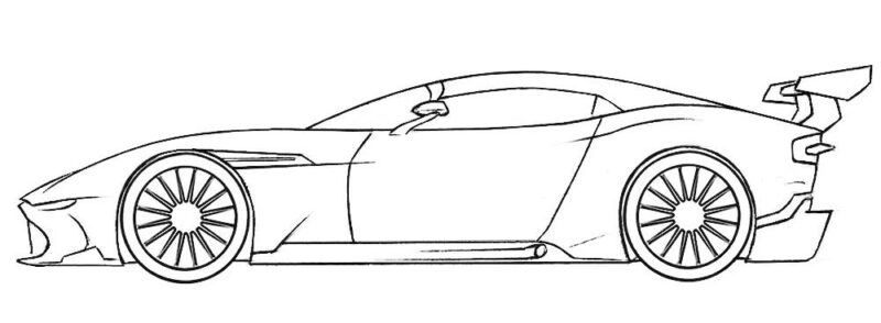 Racing Car For Coloring Www Robertdee Org