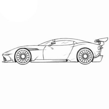Racing Car Coloring Pages