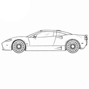 Really Cool Car Coloring Pages