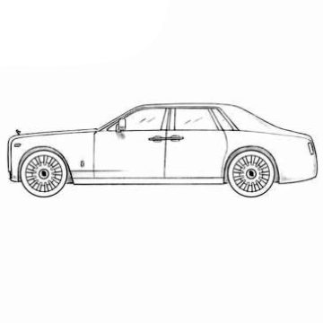 Rolls Royce Coloring Pages