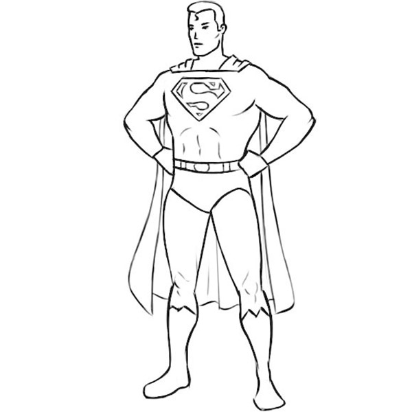 Comics Coloring Pages