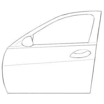 Car Door coloring pages