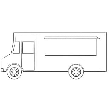Taco Truck coloring Pages