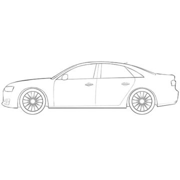 audi car coloring pages