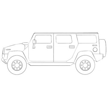big car coloring pages