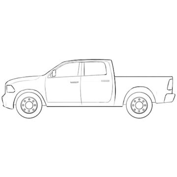 ram truck coloring pages